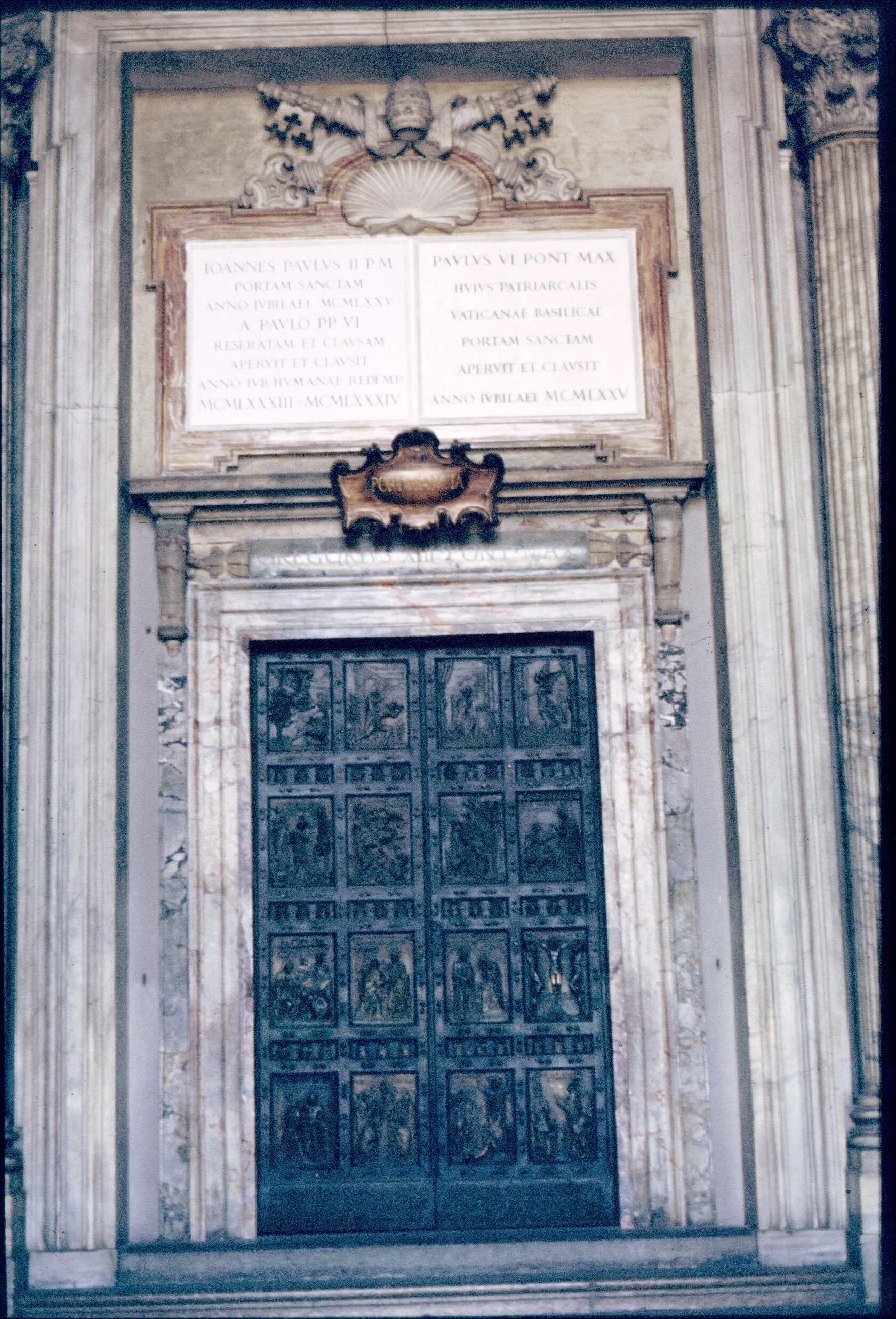 Roma - Immagini porta santa ...