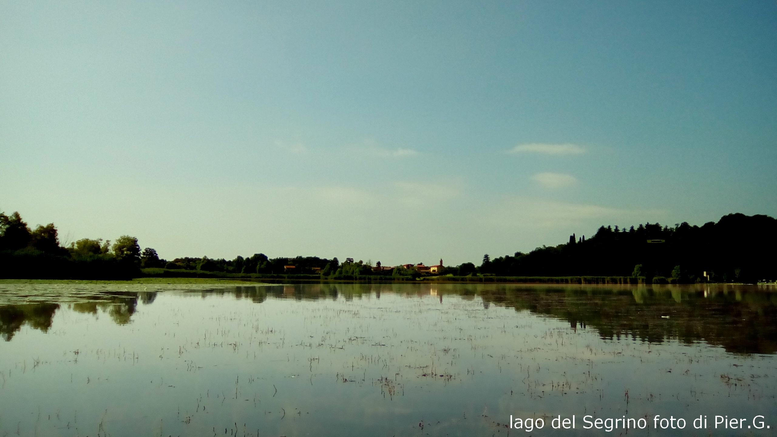 simmetrie  sul lago del SEgrino