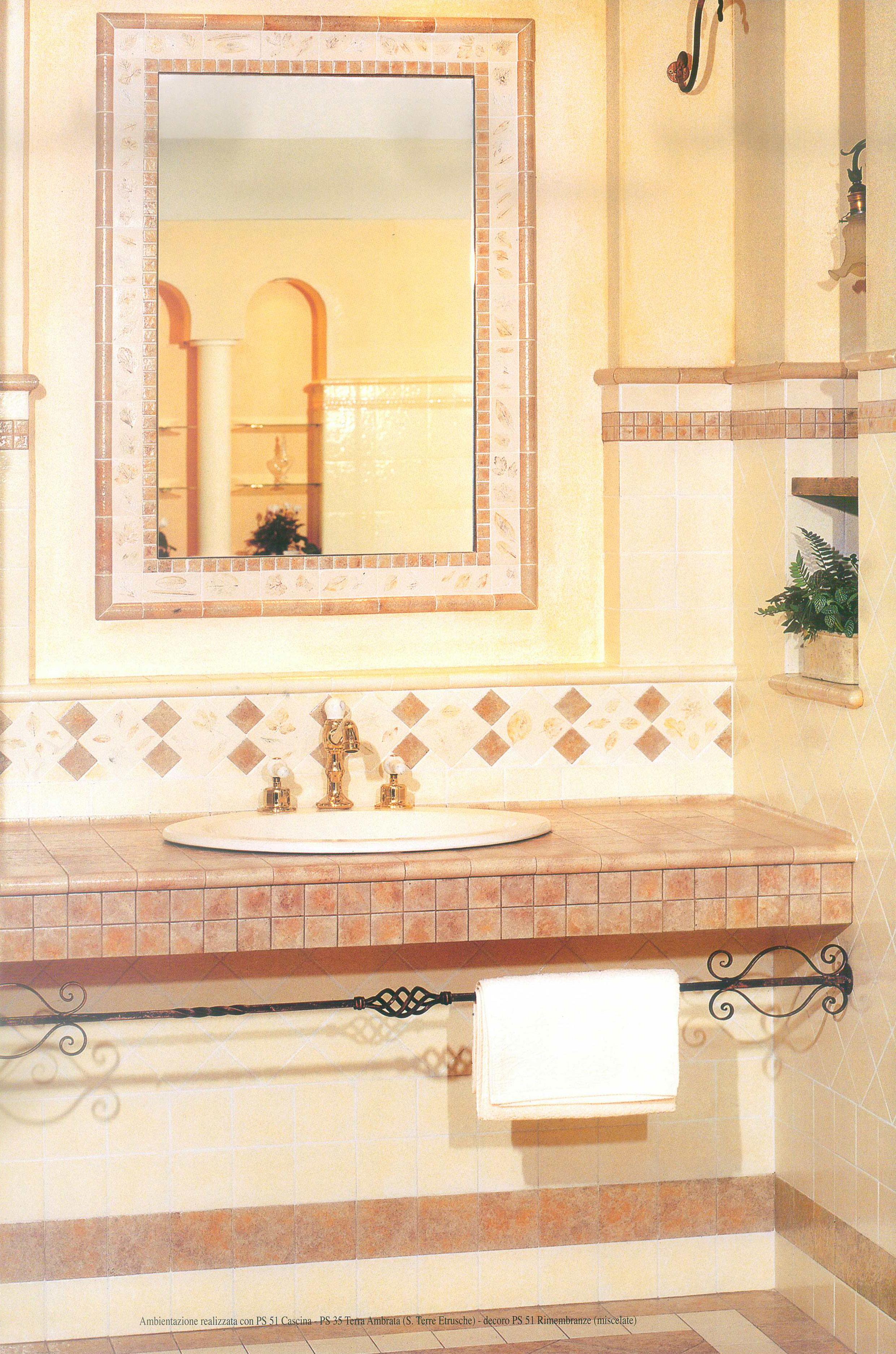 Piastrelle Arancioni Per Bagno dettagli su piastrelle pavimento rivestimento bagno cucina beige marrone  10x10 20x20