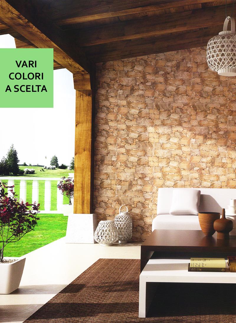 Piastrelle gres rivestimento parete effetto pietra naturale muretto decorazione  eBay
